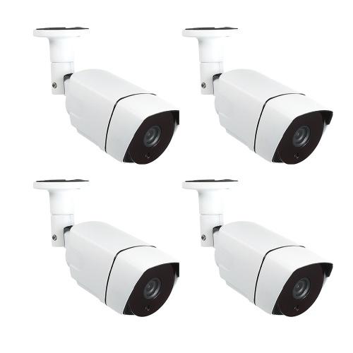 4-канальная система видеонаблюдения