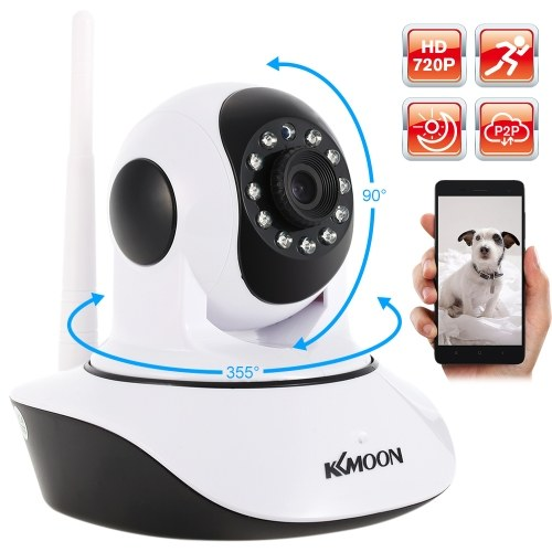 KKmoon® TP-C549T Security 1080P Indoor HD IR Night Vision IP WIFI Wireless Home CCTV Camera