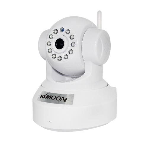 KKmoon® 0.3MP kamera PnP P2P Pan Tilt IR WiFi Wireless Network IP Webcam