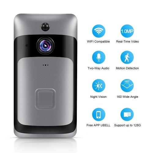 Campainha WiFi para casa inteligente