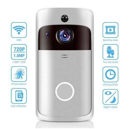 Campainha WiFi inteligente para casa com plugue AU Black Chime