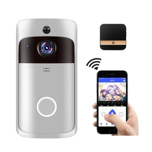 Smart Home WiFi Doorbell with Black Chime  AU Plug