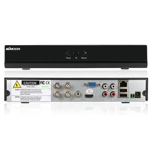 KKmoon 4 Kanal 960H CCTV Überwachung Video Recorder H.264 HD Mobiltelefon Ansicht Bewegungserkennung