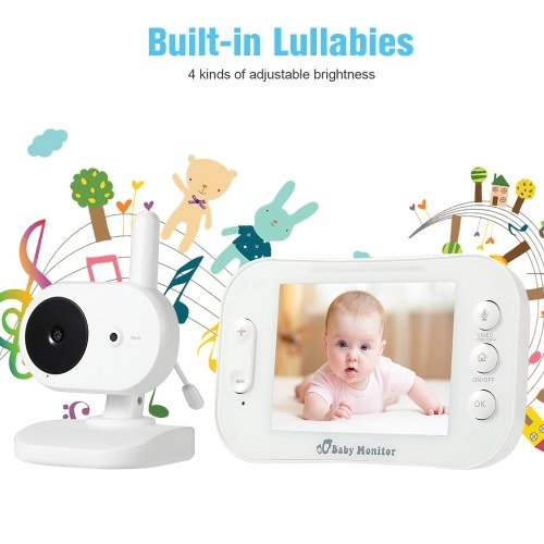 3,5-Zoll-Wireless-TFT-LCD-Video-Baby-Monitor-Kits