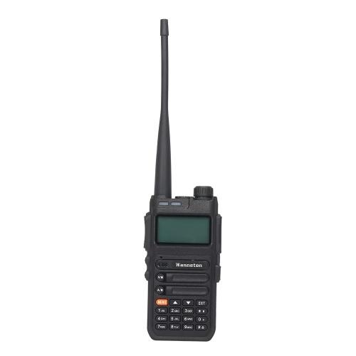 Wanneton WLT-UV5F PLUS VHF/UHF Dual Band Handheld Transceiver Interphone