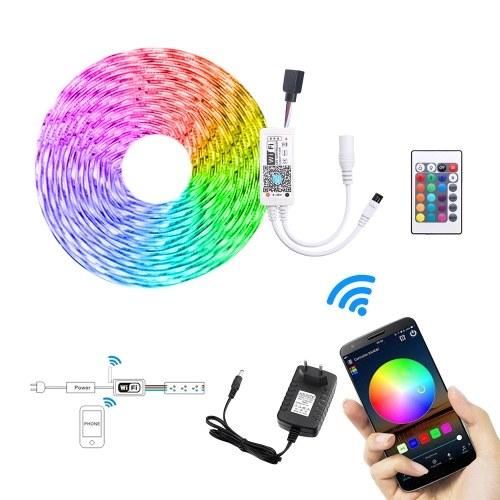 5M Smart Light Strips WIFI управления цвет меняется светодиод