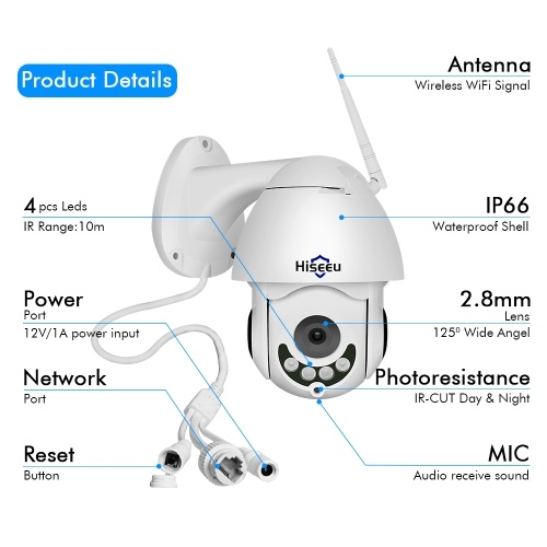 Full HD 1080P Security Surveillance Cameras