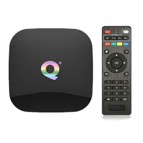 Substituição Q PLUS 6K TV Box para Android 9.0 Wifi TV Box