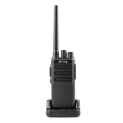 POFUNG P54U Mini-Walkie-Talkie GMRS 462.5625- 467.7250 MHz 16-Kanal-tragbarer Hand-Transceiver Interphone VOX-Funktion Funkgerät