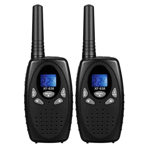 Rádio bidirecional para adultos, crianças, canal 22, walkie talkie de 0,5 W de longo alcance com cancelamento de ruído VOX para acampamento, caminhada, ciclismo, cruzeiro, viagem rodoviária (um par)