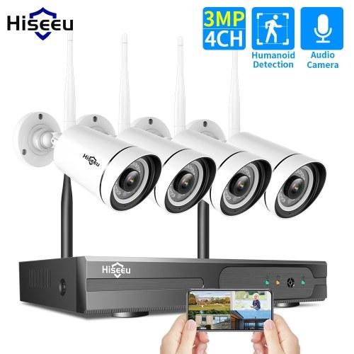 Sistema di telecamere di sorveglianza wireless da casa 3MP
