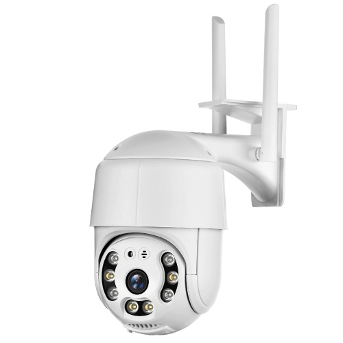 Caméra de sécurité extérieure PTZ Caméra de surveillance domestique 1080P