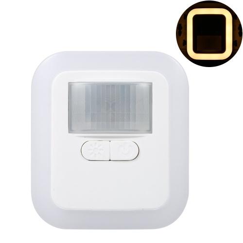 Lampada da parete a LED con sensore di movimento plug-in