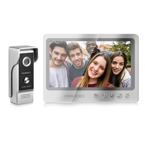 OWSOO 9 '' Видеодомофон Видеодомофон Открытый Водонепроницаемый Домашний Дверной Звонок