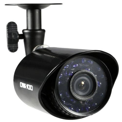 OWSOO 4 * 800TVL屋内/屋外弾丸セキュリティCCTVカメラ+ 4 * 60フィートサーベイランスケーブル全天候IR-CUTナイトビュープラグインをサポートし、3.6ミリメートル24赤外線LEDを再生