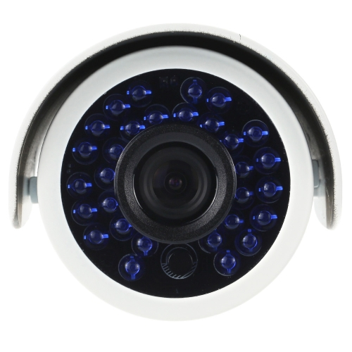 OWSOO 4 * AHD 720P 1500TVL Megapixel Outdoor / Indoor-Sicherheit CCTV-Kugelkamera + 4 * 60ft Surveillance Kabel unterstützen wetterfeste IR-CUT Nachtsicht-Plug & Play-3.6mm 30 Infrarot-LEDs