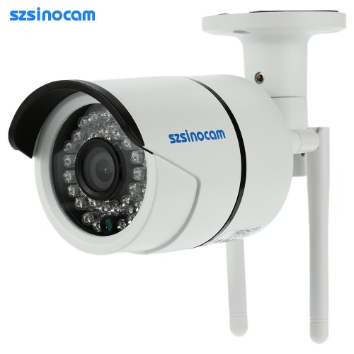 szsinocam Full HD de 2.0MP Megapixels 1080P 2.4G / 5.8G sem fio Wi-Fi câmera de segurança CCTV Vigilância P2P Rede IP Nuvem Indoor apoio Bala Outdoor Camera Onvif2.4 intempéries IR-CUT filtro infravermelho Night Vision Motion Detection Email Alarm Android / iOS aplicativo gratuito CMS 36LED