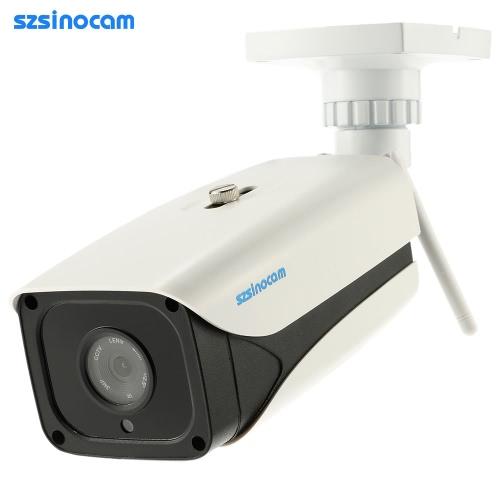 耐候性IR-CUTフィルター赤外線ナイトビジョンモーション検知をEメールでアラームのAndroid / iOS版アプリ無料CMS 4LEDs Onvif2.4 szsinocamのHDメガピクセル720P 2.4G / 5.8Gワイヤレス無線LANカメラ+ 8G TFカードCCTV監視セキュリティP2PネットワークのIPクラウド屋内屋外弾丸カメラのサポート
