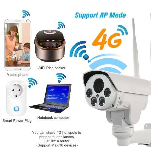 1080P 4G Wireless IP Camera 5-50mm Auto Focus Lens PTZ Network Camera IR-CUT Night Vision 3G GSM Outdoor Waterproof CCTV Camera Video Surveillance Onv