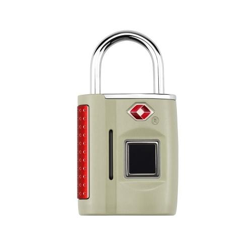 Verrou intelligent sans clé à empreinte digitale / cadenas approuvé par la TSA