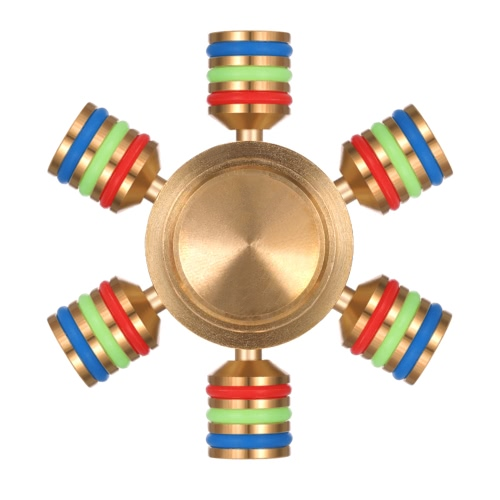 Detachable Fidget Spinner 360°Hand Finger Spinner High-speed Rotation Bearing Spin Widget Focus Toy for ADHD Anxiety Boredom Adults Children Killing Time