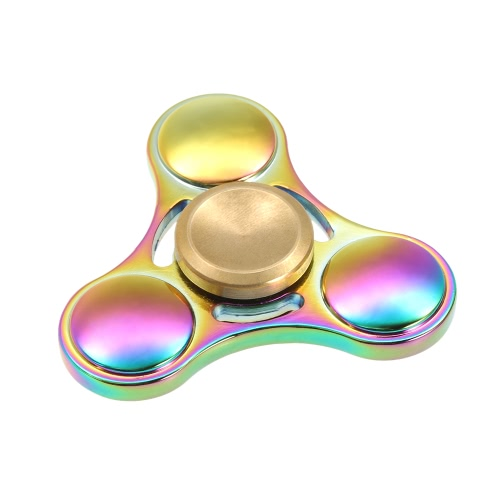 Tri Fidget Spinner 360°Hand Finger Spinner High-speed Rotation Bearing Spin Widget Focus Toy for ADHD Anxiety Boredom Adults Children Killing Time