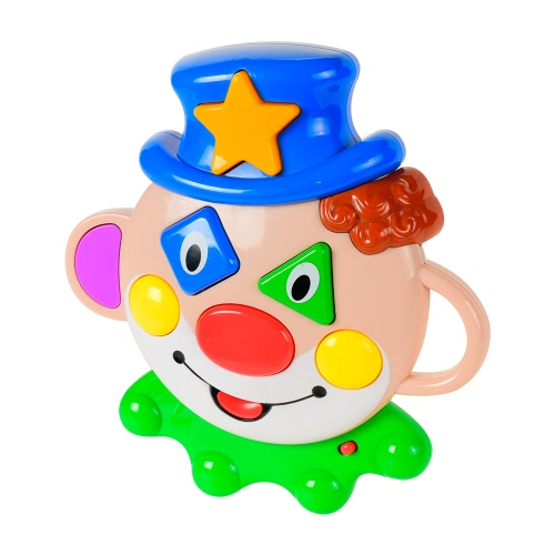 Maschera di Baoli Clown Funny Clown Educational Toy Learning Machine per i bambini