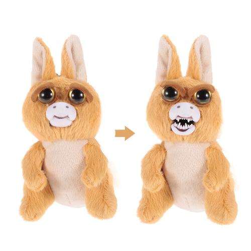 Feisty Pets Mini Kangroo Keychains魅力的なぬいぐるみのぬいぐるみは、ぎこちなく激しく揺れ動く