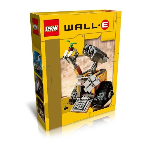 Original Box LEPIN 16003 687pcs Idea Robot WALL E Building blocks Kit Set