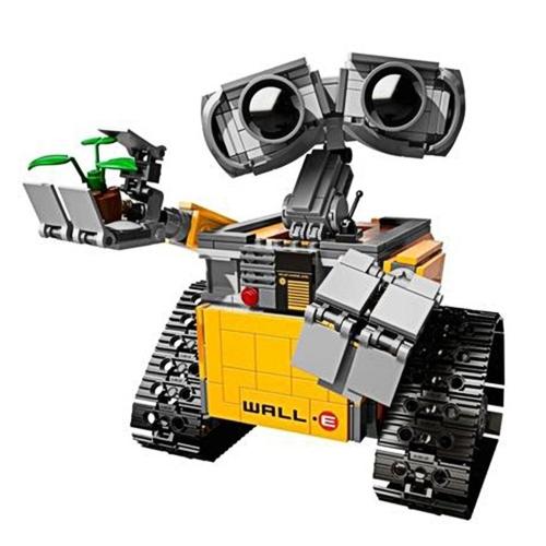 LEPIN 16003 687szt Idea Robot WALL E Zestaw klocków budowlanych - pakiet plastikowych toreb