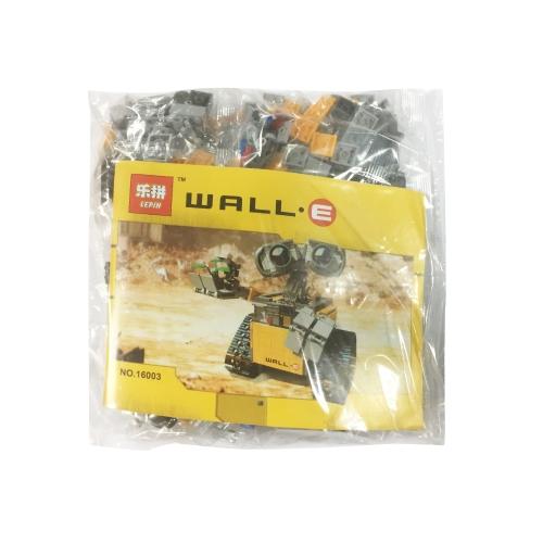 LEPIN 16003 687 pezzi Idea Robot WALL E Kit di mattoncini - Confezione di sacchetti di plastica