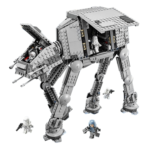 LEPIN 05051 1157pcs Star Wars Series Force Awaken The AT Transpotation AT Armored Robot Building Blocks Kit Set - Plastic Bag Package