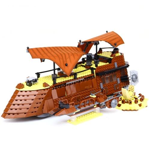 Oryginalne pudełko LEPIN 05090 821szt. Zestaw żaglówek Star Wars Jabba's Sail Barge