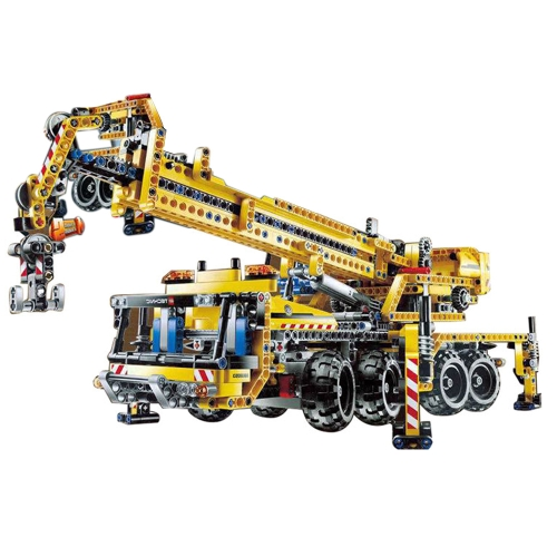 LEPIN 20040 1392pcs Technic Series Mobile Crane Model Building Blocks Bricks Kit - Plastic Bag Packaged