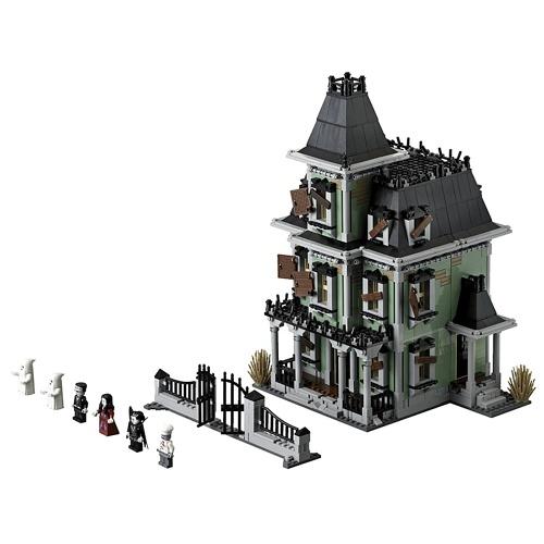 Serie di film LEPIN 16007 2141pcs serie di mostri combattenti Haunted House Building Blocks Kit di mattoni - Pacchetto sacchetto di plastica