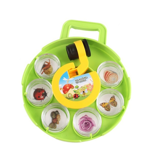 Bug Catcher Collection Viewer Set Microscope Insect Observation Children's Magnifier Toys Nature Exploration Science Educational Toy for Kids Living Field Adventure
