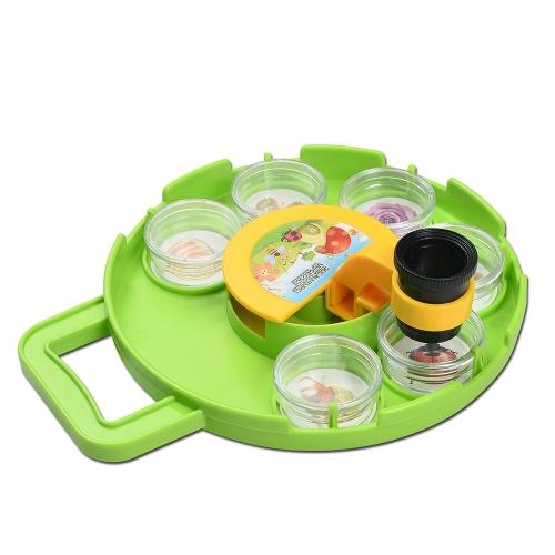 Bug Catcher Collection Zestaw obserwacyjny Mikroskop Obserwacja owadów Lupa dziecięca Zabawki Natura Eksploracja Nauka Zabawki edukacyjne dla dzieci Życie Pole Przygoda