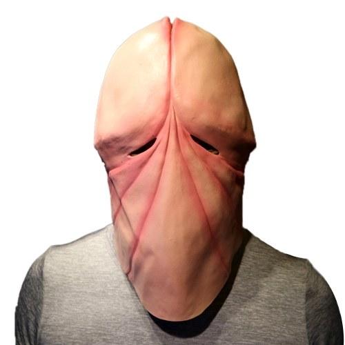 Halloween Funny Prank Żarty 3D Penis Dick Mask Adult Fun Head Masks