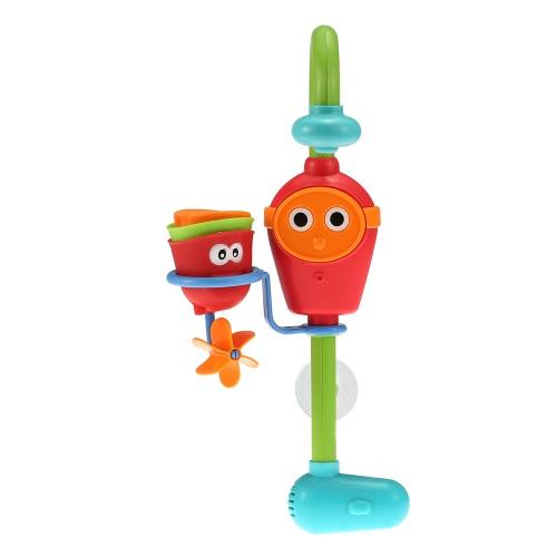 Baby Bath Toy Bathroom Shower Bathtub Water-spraying Toy Bath Play Water Tap Sprinker Toy