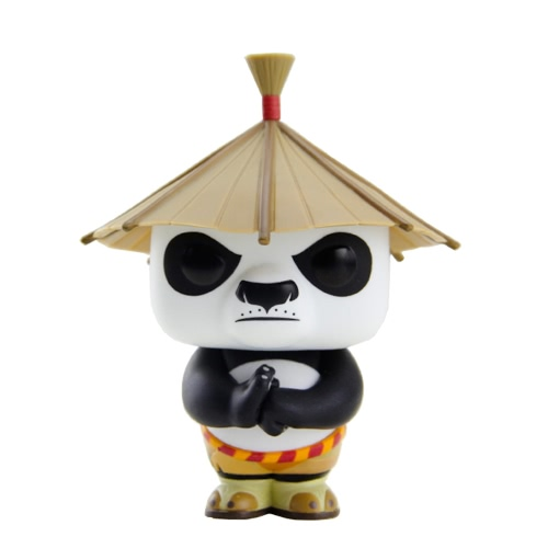 FUNKO POP Movie Kung Fu Panda Action Figure Vinyl Model Collection - Po with a Hat