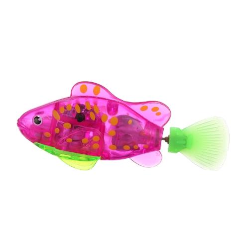 Flashy Electronic Fish Pets Robot Swimming Fish Wonderful Electric Clownfish
