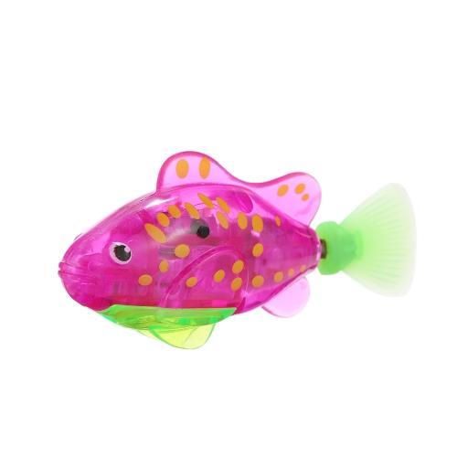 Flashy Electronic Fish Pets Robot Natación Peces Maravilloso pez payaso eléctrico