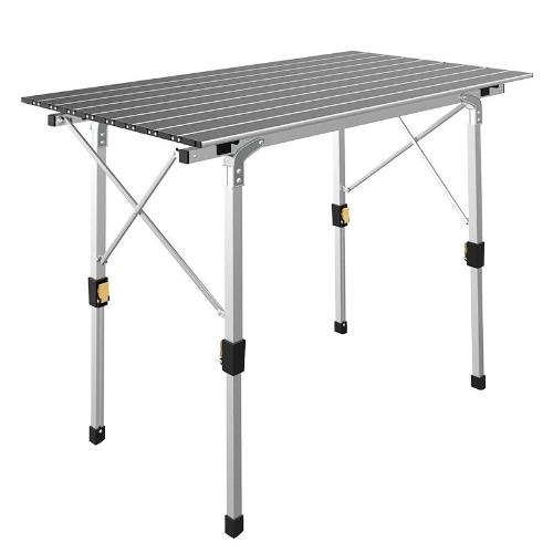 Алюминиевый открытый складной столик легкий портативный для пикника кемпинг барбекю