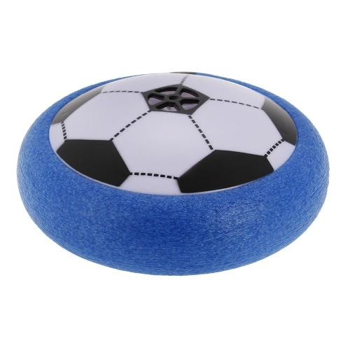 21.5cm - Air Power Fußball Schwimmende Fußball Kinder Sport Spielzeug Training Fußball Indoor Outdoor mit LED Lichter
