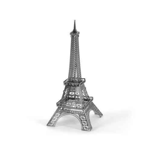 Puzzle 3D - Wieża Eiffla 3D Model Metalowy - Puzzle DIY Budowlane Zabawki edukacyjne