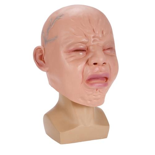 Schreiende Gesichtsmaske Horror Ghost Headgear Monster