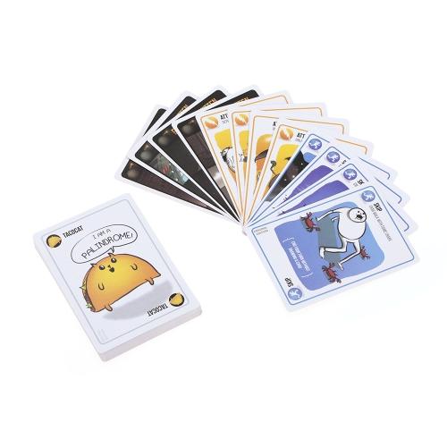 爆発の子猫カードゲームパーティーのプレイカードカードゲーム猫と爆発と時々ヤギ