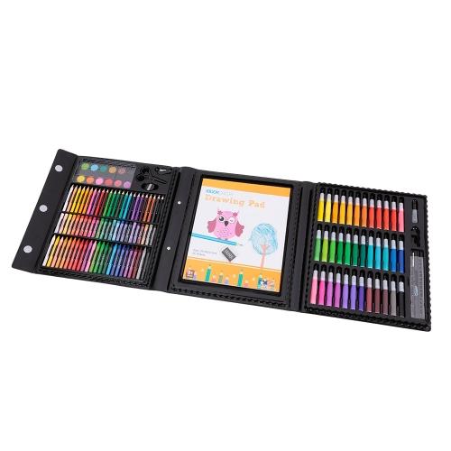 154pcs KIDDY COLOR Kids Art Drawing Kit