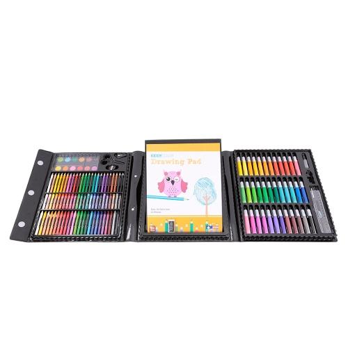 154 pezzi KIDDY COLOR Kids Kit di disegno artistico
