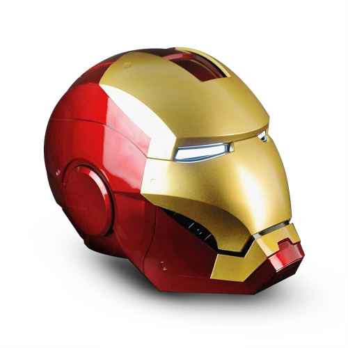 Super Hero Iron Man 1/1 Mark3 Full Scale Wearable Helmet Mask Replica per la decorazione del festival di Festival Giocattoli per bambini